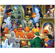 Vermont Christmas Company Vermont Christmas Co. Haunted House Party Puzzle 1000pcs
