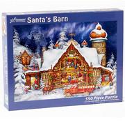 Vermont Christmas Company Vermont Christmas Co. Santa's Barn Puzzle 550pcs