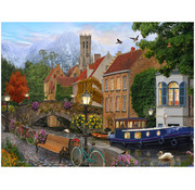 Vermont Christmas Company Vermont Christmas Co. Canal Living Puzzle 550pcs