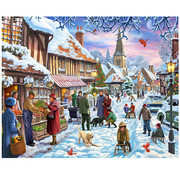 Vermont Christmas Company Vermont Christmas Co. Winter Stroll Puzzle 1000pcs
