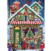 Vermont Christmas Company Vermont Christmas Co. Toy Shop Time Puzzle 1000pcs