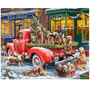 Vermont Christmas Company Vermont Christmas Co. Doggone Christmas Time Puzzle 1000pcs