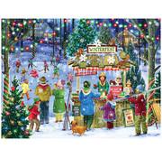 Vermont Christmas Company Vermont Christmas Co. Winterfest Puzzle 550pcs