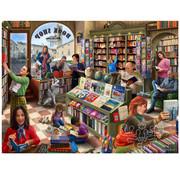 Vermont Christmas Company Vermont Christmas Co. Book Shop Puzzle 550pcs