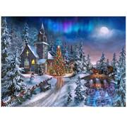 Vermont Christmas Company Vermont Christmas Co. Christmas Night Puzzle 1000pcs