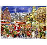 Vermont Christmas Company Vermont Christmas Co. Christmas Carousel Puzzle 1000pcs