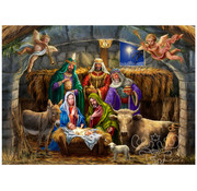 Vermont Christmas Company Vermont Christmas Co. In the Manger Puzzle 1000pcs