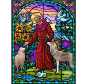 Vermont Christmas Company Vermont Christmas Co. St. Francis of Assisi Puzzle 550pcs