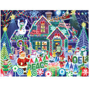 Vermont Christmas Company Vermont Christmas Co. Festival of Lights Puzzle 550pcs
