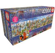 Educa Borras Educa Around the World Puzzle 42000pcs