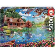 Educa Borras Educa Lake House Puzzle 5000pcs