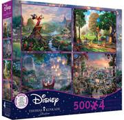 Ceaco Ceaco Thomas Kinkade Disney Dreams Puzzle 4 x 500pcs