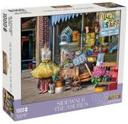 Mchezo Mchezo Sidewalk Treasures Puzzle 1000pcs