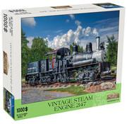 Mchezo Mchezo Vintage Steam Engine 2147 Puzzle 1000pcs