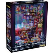 Mchezo Mchezo The Happiest Kid in the World Puzzle 1000pcs