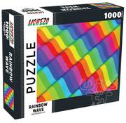 Mchezo Mchezo Rainbow Wave Puzzle 1000pcs