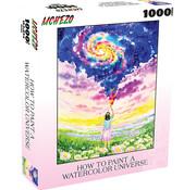 Mchezo Mchezo How to Paint a Watercolor Universe Puzzle 1000pcs