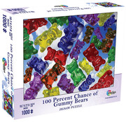 Mchezo Mchezo 100% Chance of Gummy Bears Puzzle 1000pcs