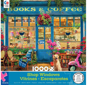 Ceaco Ceaco Shop Windows - Books & Coffee Puzzle 1000pcs