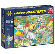 Jumbo Jumbo Camping in the Forest Puzzle 2000pcs