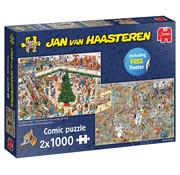 Jumbo Jumbo Christmas Mall and Black Friday Puzzle 2 x 1000pcs