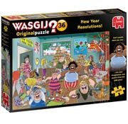Jumbo Jumbo Wasgij Original 36 New Years Resolutions! Puzzle