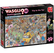 Jumbo Jumbo Wasgij Destiny 22 Trip to the Tip! Puzzle 1000pcs