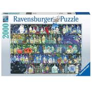 Ravensburger Ravensburger Poisons and Potions Puzzle 2000pcs