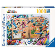 Ravensburger Ravensburger Disney Pixar Scrapbook Puzzle 1000pcs