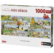 Ravensburger Nathan Les voyages d'Astérix Panorama Puzzle 1000pcs