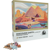 Enwood Games Enwood Games Discover Earth: Puzzling PyramidsPuzzle 1000pcs
