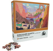 Enwood Games Enwood Games Discover Earth: Canyons of the West Puzzle 1000pcs