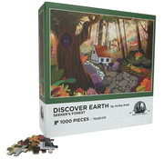 Enwood Games Enwood Games Discover Earth: Seeker's Forest Puzzle 1000pcs
