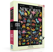 New York Puzzle Company New York Puzzle Co. The New Yorker: Tree of Life Puzzle 1000pcs