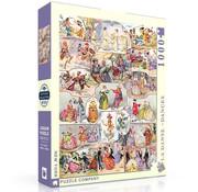 New York Puzzle Company New York Puzzle Co. Vintage Collection: La Dance - Dances Puzzle 1000pcs
