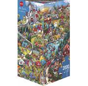 Heye Heye Go Camping Puzzle 2000pcs