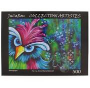 JaCaRou Puzzles JaCaRou Barbapapa Puzzle 500pcs