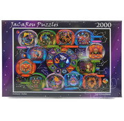 JaCaRou Puzzles JaCaRou Zodiac Puzzle 2000pcs