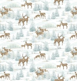 Frosted Woodland-Flannel