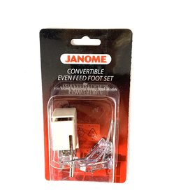 Janome Convertible Even Feed Foot Set  LOW SHANK
