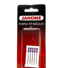 Janome Purple Tip Needles