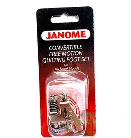Janome Convertible Free Motion Motion Quilting Foot Set LOW SHANK