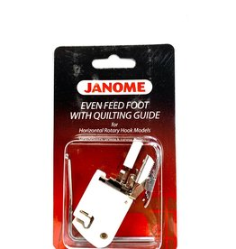 Janome Even Feed Foot With Quilting Guide (Horizontal)
