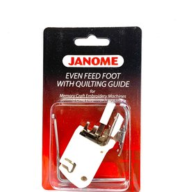 Janome Even Feed Foot With Quilting Guide (MC Embroidery Machine)