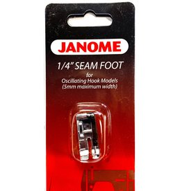 "Janome 1/4"" Seam Foot (Oscillating)"