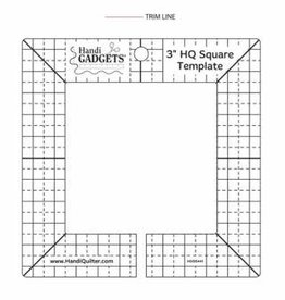 """Handy Quilter 3"""" HQ Square Template"""