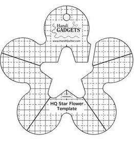 Handy Quilter HQ Star Flower Template