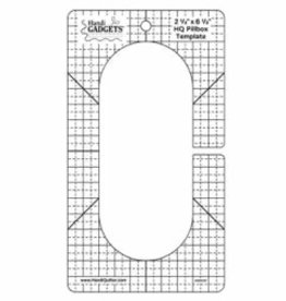 Handy Quilter HQ Pillbox Template Ruler