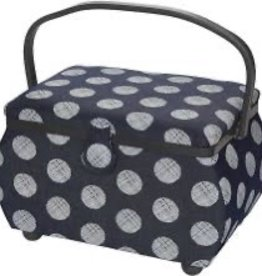 SMS Sewing Basket Dandellion 12.5 x 8 x 8.25""