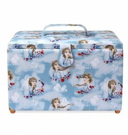 Disney Frozen 2, Large Elsa Sewing Basket 12 x 7 3/4 x 9 1/4""